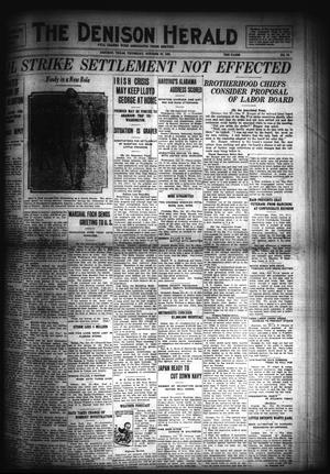Primary view of object titled 'The Denison Herald (Denison, Tex.), No. 79, Ed. 1 Thursday, October 27, 1921'.