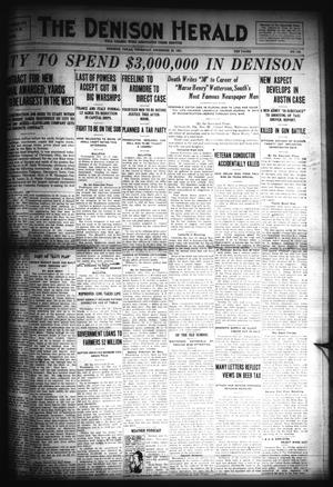 Primary view of object titled 'The Denison Herald (Denison, Tex.), No. 126, Ed. 1 Thursday, December 22, 1921'.