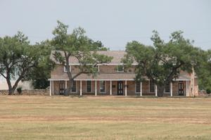 Primary view of object titled 'Fort Concho, Headquarters'.