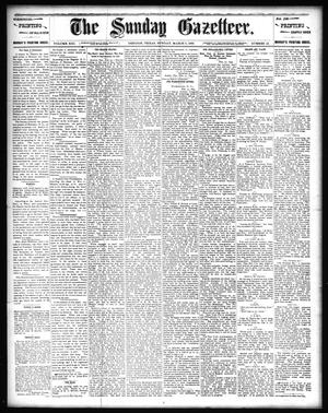 Primary view of object titled 'The Sunday Gazetteer. (Denison, Tex.), Vol. 13, No. 45, Ed. 1 Sunday, March 3, 1895'.