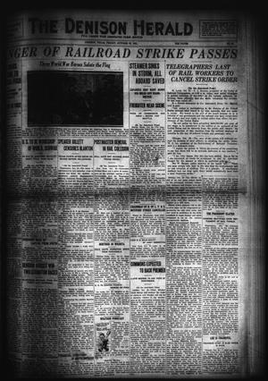 Primary view of object titled 'The Denison Herald (Denison, Tex.), No. 80, Ed. 1 Friday, October 28, 1921'.