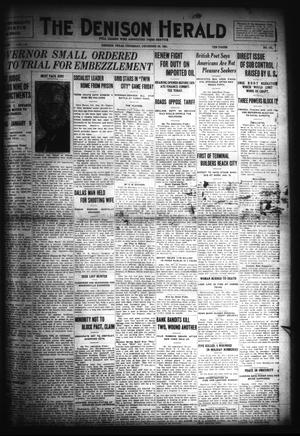 Primary view of object titled 'The Denison Herald (Denison, Tex.), No. 131, Ed. 1 Thursday, December 29, 1921'.