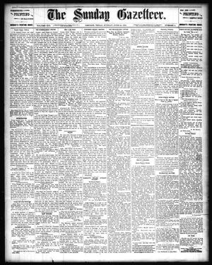 Primary view of object titled 'The Sunday Gazetteer. (Denison, Tex.), Vol. 13, No. 9, Ed. 1 Sunday, June 24, 1894'.