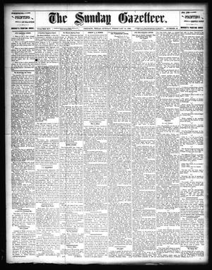 Primary view of object titled 'The Sunday Gazetteer. (Denison, Tex.), Vol. 14, No. 43, Ed. 1 Sunday, February 16, 1896'.