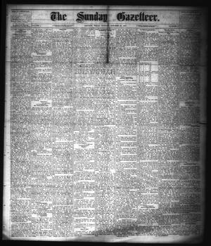 Primary view of object titled 'The Sunday Gazetteer. (Denison, Tex.), Vol. 1, No. 27, Ed. 1 Sunday, October 28, 1883'.