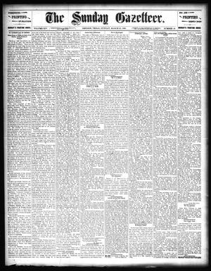 Primary view of object titled 'The Sunday Gazetteer. (Denison, Tex.), Vol. 14, No. 48, Ed. 1 Sunday, March 22, 1896'.