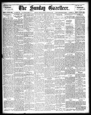 Primary view of object titled 'The Sunday Gazetteer. (Denison, Tex.), Vol. 13, No. 48, Ed. 1 Sunday, March 24, 1895'.