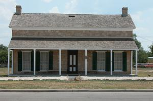 Primary view of object titled 'Fort Concho, an Officer's Quarters'.