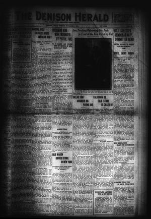Primary view of object titled 'The Denison Herald (Denison, Tex.), No. 83, Ed. 1 Tuesday, November 1, 1921'.
