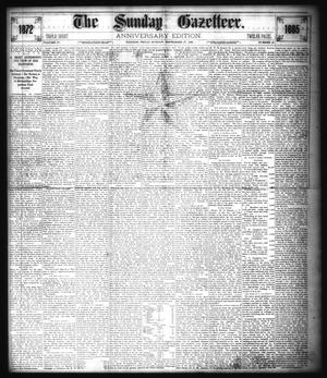 Primary view of object titled 'The Sunday Gazetteer. (Denison, Tex.), Vol. 4, No. 21, Ed. 1 Sunday, September 27, 1885'.