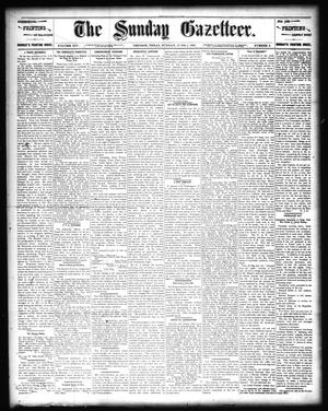 Primary view of object titled 'The Sunday Gazetteer. (Denison, Tex.), Vol. 14, No. 6, Ed. 1 Sunday, June 2, 1895'.