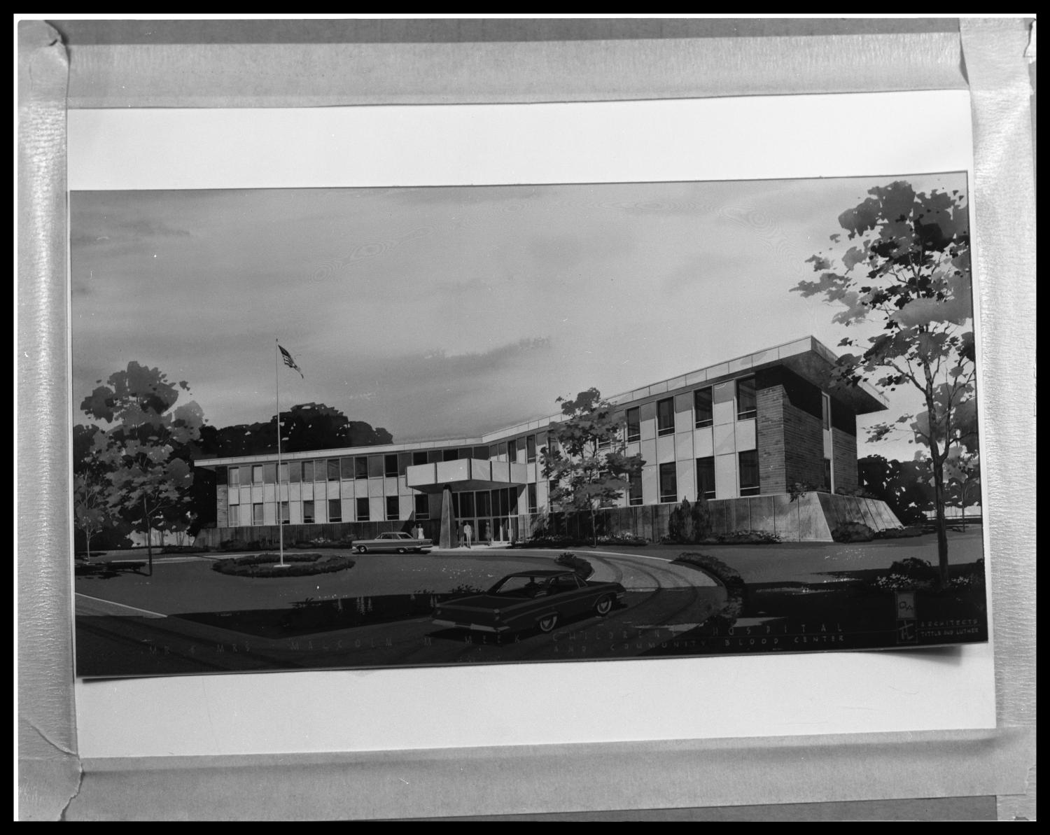 Drawing of Meeks Building at Hendrick #4                                                                                                      [Sequence #]: 1 of 1