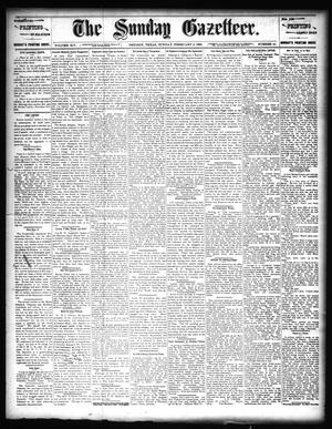 Primary view of object titled 'The Sunday Gazetteer. (Denison, Tex.), Vol. 14, No. 41, Ed. 1 Sunday, February 2, 1896'.