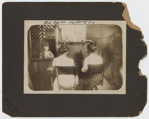 Primary view of object titled '[Photograph of Telephone Office]'.