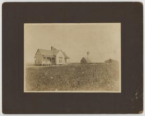 Primary view of object titled '[Photograph of Wise Home]'.