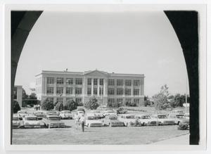 Primary view of object titled '[Photograph of Old Main]'.
