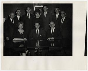Primary view of object titled '[Photograph of Members of Student Government]'.