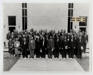 Primary view of object titled '[Photograph of McMurry Board of Trustees, 1964-1965]'.