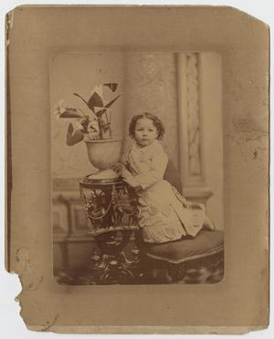Primary view of object titled '[Portrait of a Little Girl]'.