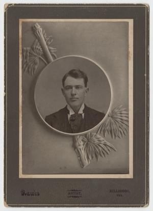 Primary view of object titled '[Portrait of Jim Weatherred]'.