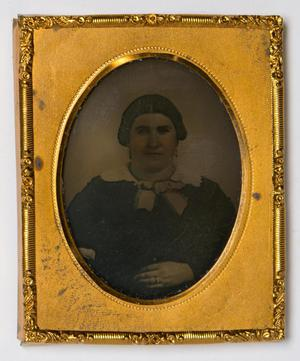 Primary view of object titled '[Portrait of Julia A. Gutterson]'.