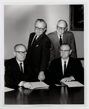 Primary view of object titled '[Photograph of McMurry Board of Trustees]'.