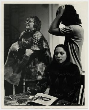 Primary view of object titled '[Photograph of McMurry Drama Students]'.