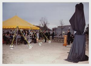 Primary view of object titled '[Photograph of Dedication Ceremony for Sacred Wind]'.