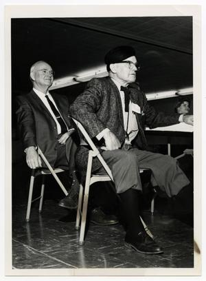Primary view of object titled '[Photograph of Oliver Bush and Pete Shotwell]'.