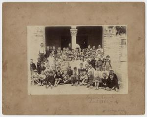 Primary view of object titled '[Photograph of Elementary School Students]'.