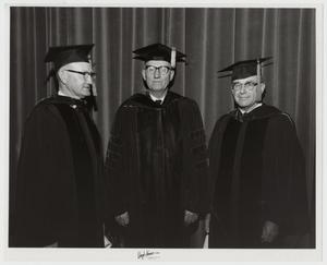 Primary view of object titled '[Photograph of McMurry Commencement]'.