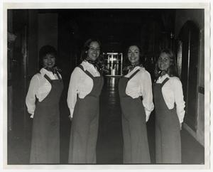 Primary view of object titled '[Photograph of Four Hostesses]'.