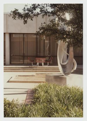 Primary view of object titled '[Photograph of Inner Courtyard at Campus Center]'.