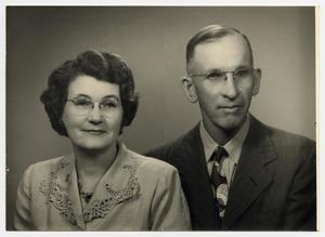 Primary view of object titled '[Photograph of Frank and Esther Greathouse]'.