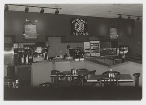 Primary view of object titled '[Photograph of Interior of Sport Grill]'.
