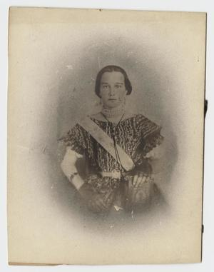 Primary view of object titled '[Portrait of Lucy Jane Martin Calvert]'.