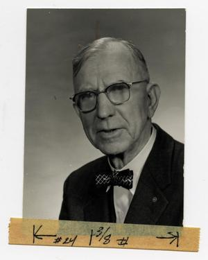 Primary view of object titled '[Photograph of J. M. Willson, Sr.]'.