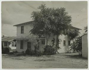 Primary view of object titled '[Photograph of Art Building on McMurry Campus]'.