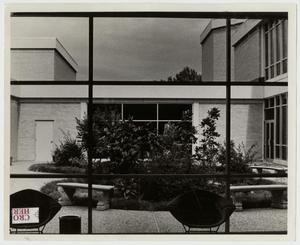 Primary view of object titled '[Photograph of Courtyard of Amy Graves Ryan Fine Arts Center]'.