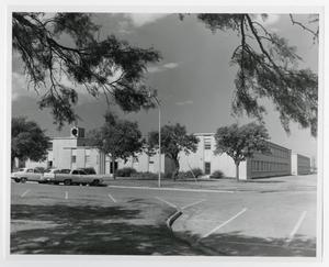 Primary view of object titled '[Photograph of William C. Martin Dormitory]'.