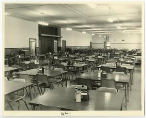Primary view of object titled '[Photograph of McMurry University's Iris Graham Dining Hall]'.