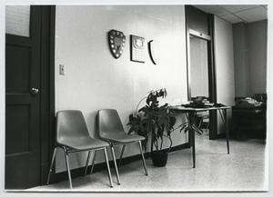 Primary view of object titled '[Photograph of an Office in Old Main]'.