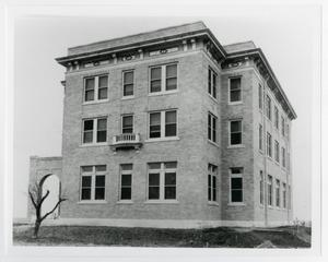 Primary view of object titled '[Photograph of President Dormitory]'.