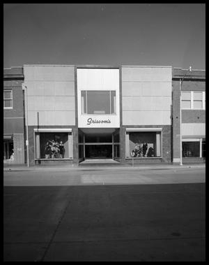 Primary view of object titled 'Grissom's Department Store in Downtown #1'.