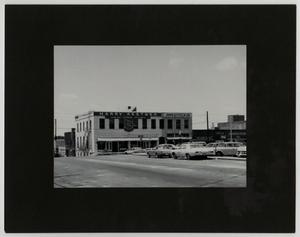 Primary view of object titled '[Photograph of Downtown Waco]'.
