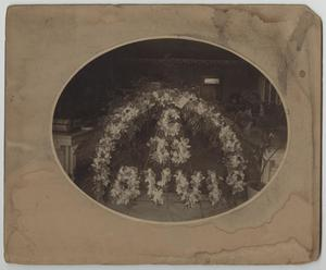 Primary view of object titled '[Photograph of Floral Arrangement]'.