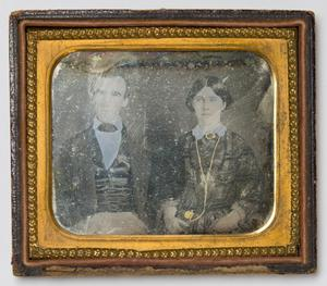Primary view of object titled '[Portrait of a Young Couple]'.