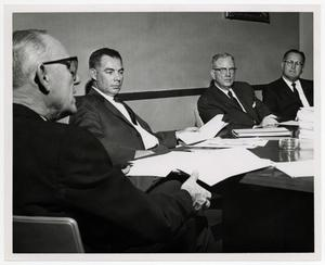 Primary view of object titled '[Photograph of McMurry College Board of Trustees in Meeting]'.