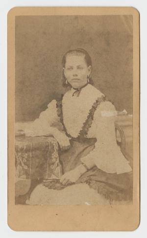 Primary view of object titled '[Portrait of a Young Woman]'.
