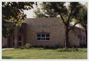 Primary view of object titled '[Photograph of Noel R. and Anita H. Chapin Art Building]'.